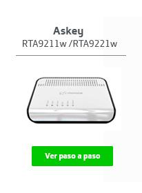 Módem Askey RTA9211w / TRA9221w