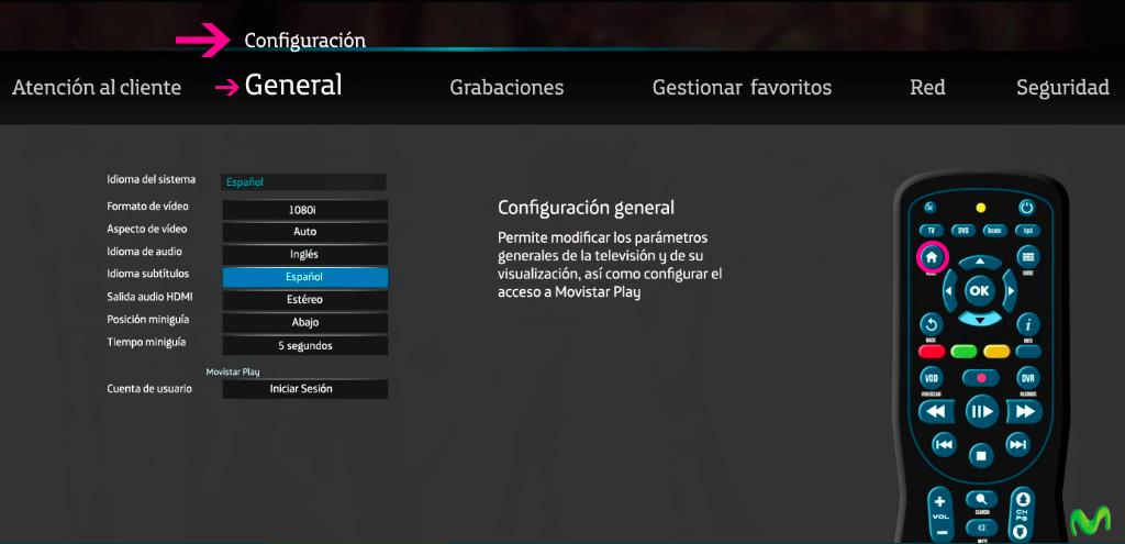 Cómo usar Movistar Play en mi decodificador? – Atención al cliente