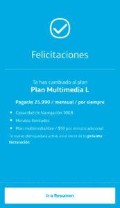 cambio plan app