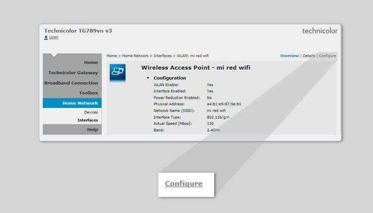 Cómo cambiar el nombre de la red Wi-Fi y clave del módem