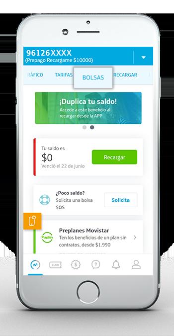App 1 Comprar Bolsa Prepago