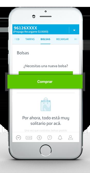 App 2 Comprar Bolsa Prepago