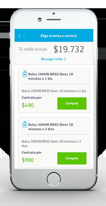 App 4 Comprar Bolsa Prepago