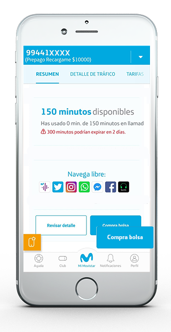 Consumo App 3.3 Prepago