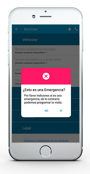 App Asistencia Movistar Servicios digitales 6