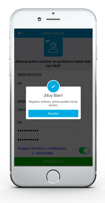 App Asistencia Movistar Servicios digitales 7