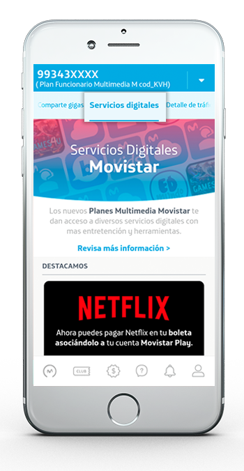 Movistar Cloud App 2