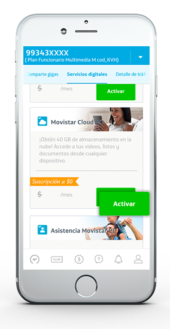 Movistar Cloud App 3