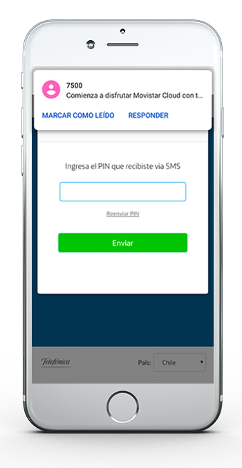 Movistar Cloud App 6